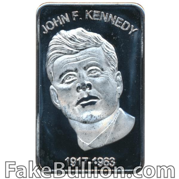 Generic John F. Kennedy 1 Ounce Silver Bar