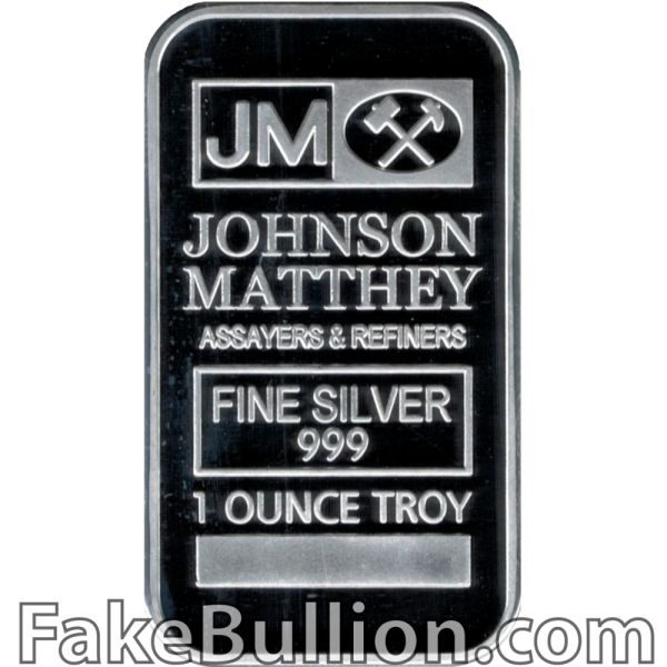 Johnson-Matthey 1 Ounce Silver Bar