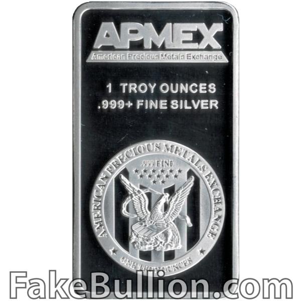 APMEX 1 Ounce Silver Bar
