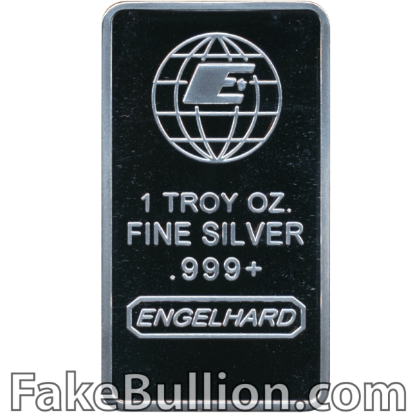 Engelhard 1 Ounce Silver Bar
