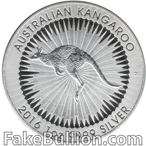 2016 Australian Kangaroo 1 Ounce Silver Coin