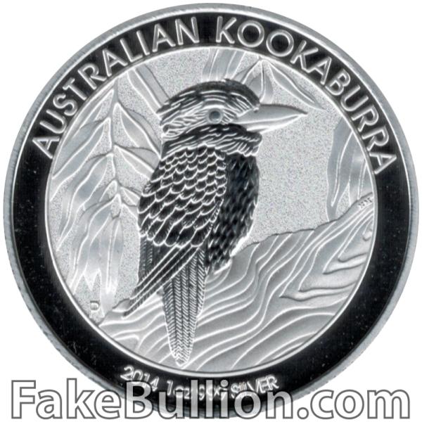 2014 Australian Kookaburra 1 Ounce Silver Coin