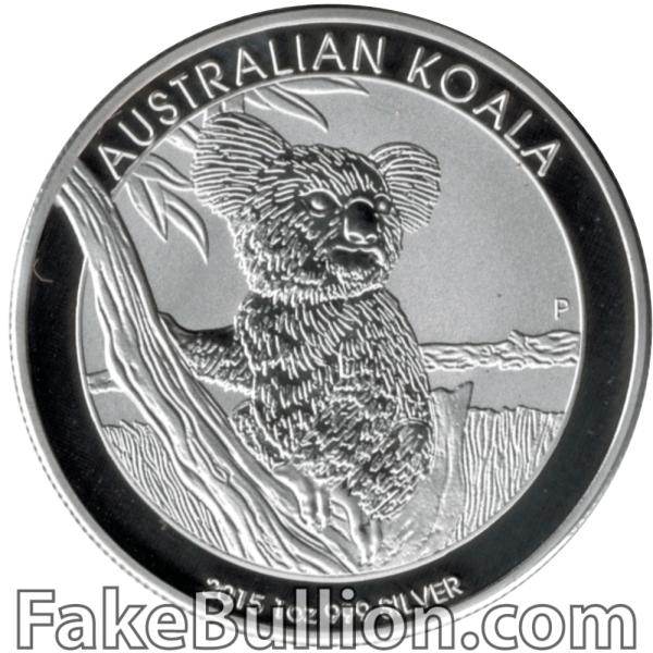 2015 Australian Koala 1 Ounce Silver Coin