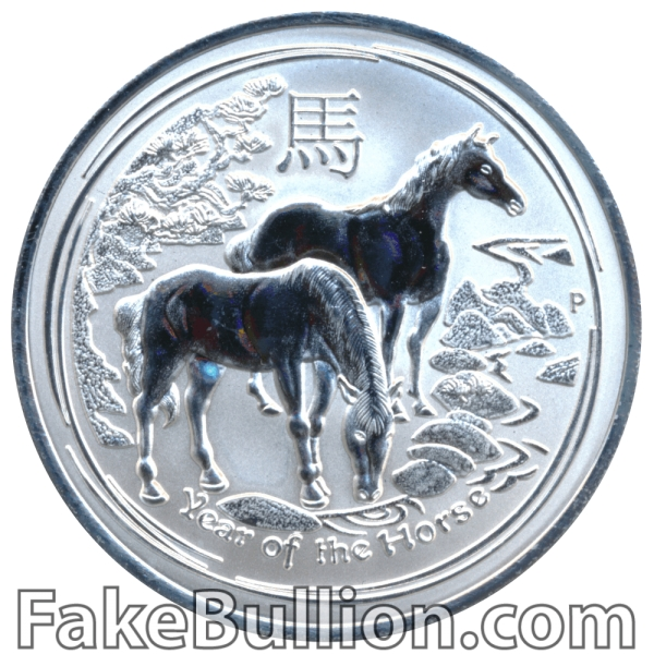 2014 Australian Year of the Horse 1 Ounce Silver Coin (Matte)