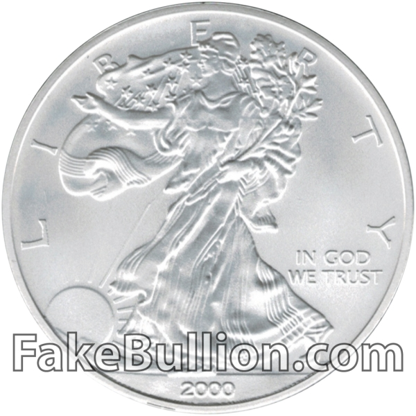 2000 American Silver Eagle 1 Ounce Coin