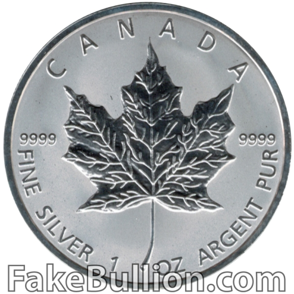 2011 Canadian Silver Maple 1 Ounce Silver Coin