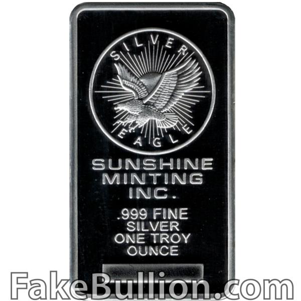 Sunshine 1 Ounce Silver Bar