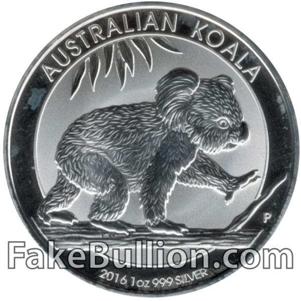 2016 Australian Koala 1 Ounce Silver Coin