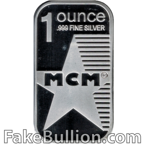 Modern Coin Mart 1 Ounce Silver Bar