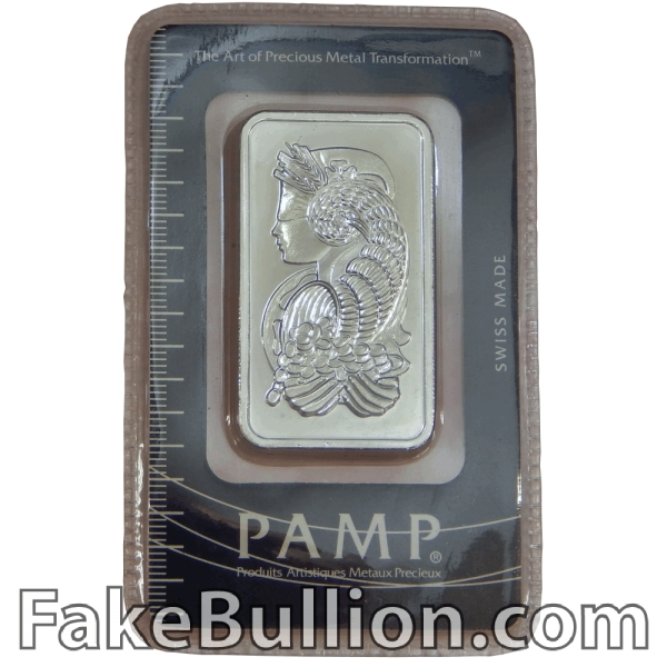 Pamp Suisse Fortuna 1 Ounce Silver Bar in Assay Card (Gen 2)