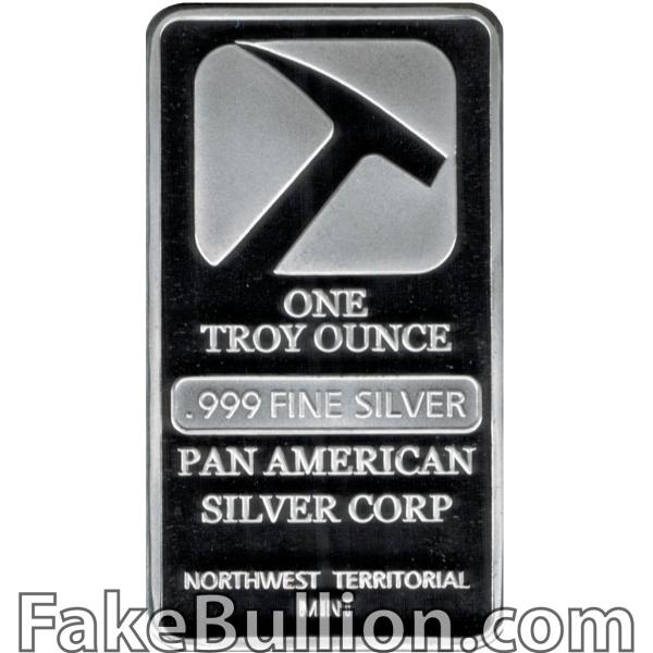 Pan American 1 Ounce Silver Bar