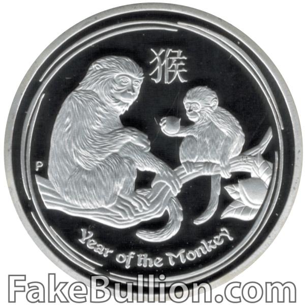 2016 Australian Monkey 1 Ounce Silver Coin