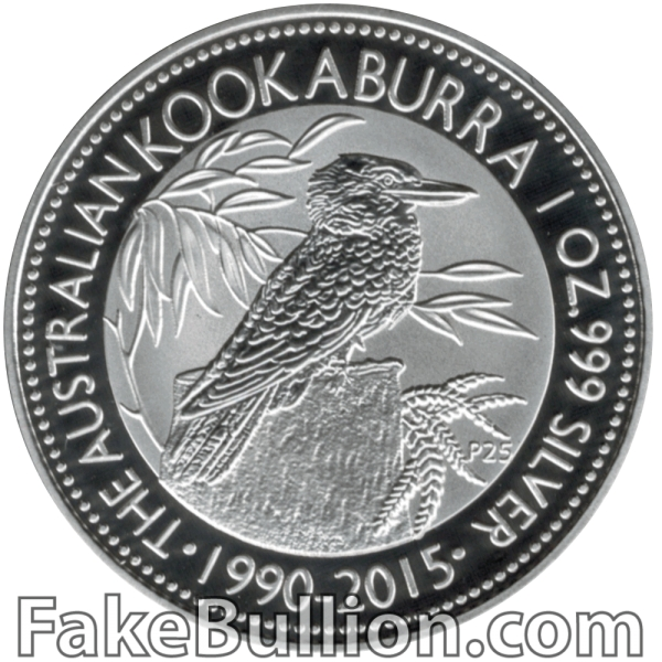 2015 Australian Kookaburra 1 Ounce Silver Coin