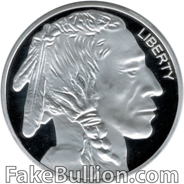 Generic Indian Buffalo 1 Ounce Silver Round